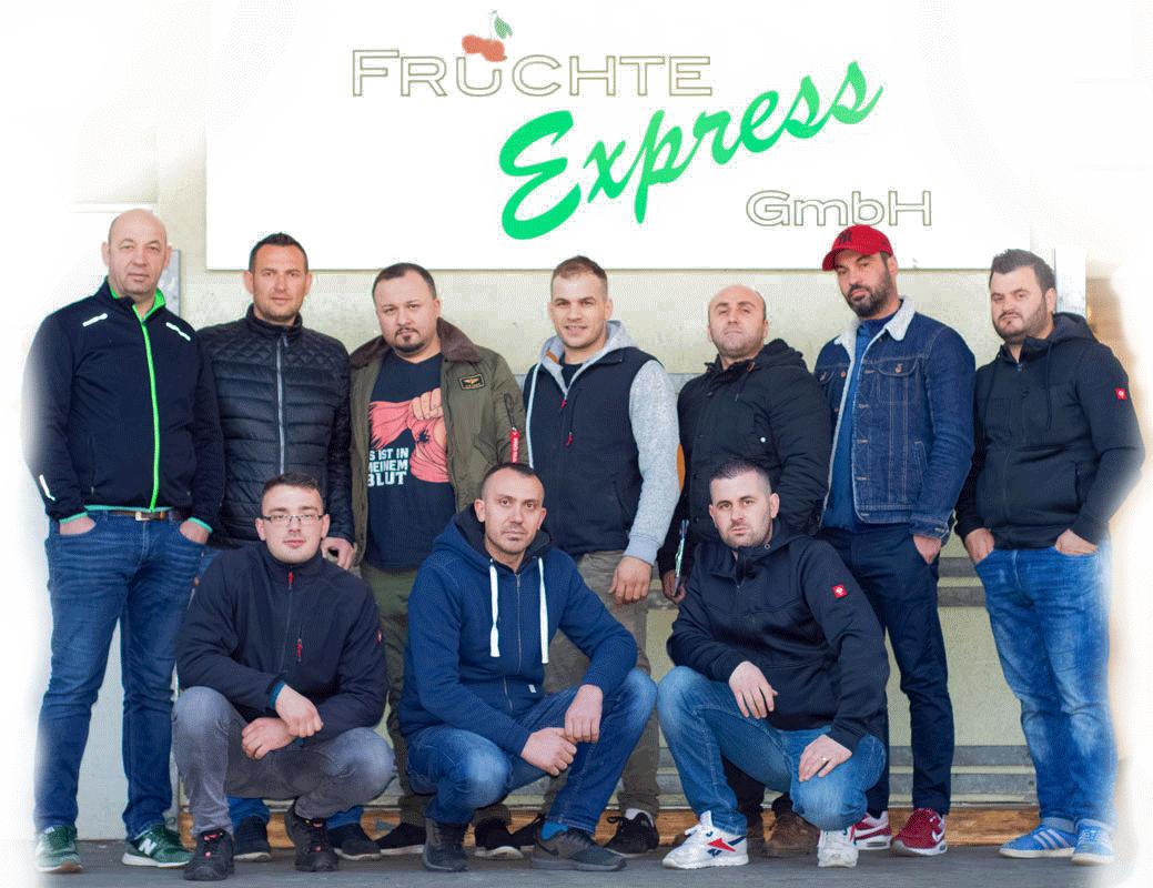 Früchte Express-Team